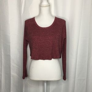 PacSun Me to We Cropped Sweater Size M